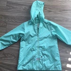 Girls kitty raincoat